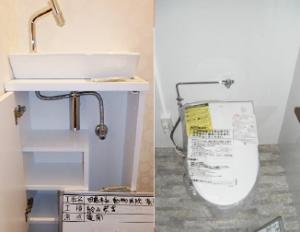 衛生設備工事 トイレ洗面キッチン