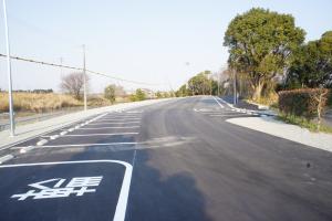東名高速牧之原SA(下り線)ぷらっとパーク駐車場工事